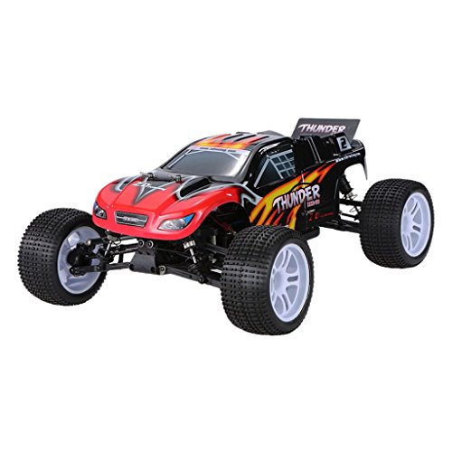 Homyl RC Vehicle Model DIY Kit ZD Racing 10423 Thunder Truggy Truck 2.4Ghz 4WD ()