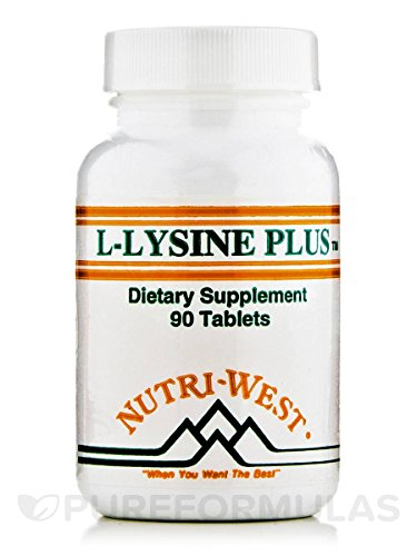Nutri-West - L-LYSINE-PLUS - 90 by Nutri-West