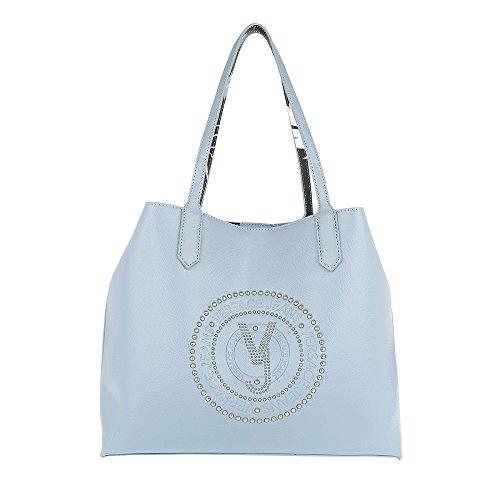 main cm x à Versace Bleu femme pour bleu Sac 14 40 28 x Uf7qEw7xC