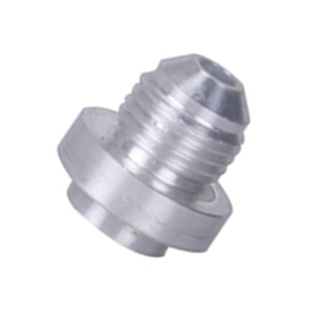 Baosity Aluminum Alloy -6AN Weld On Bung Male Hose End Nipple Weldable 6 an