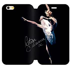 Hoomin Charming Dancing Ballet Beauty iPhone 5C Cell Phone Cases Cover Popular Gifts(Laster Technology)