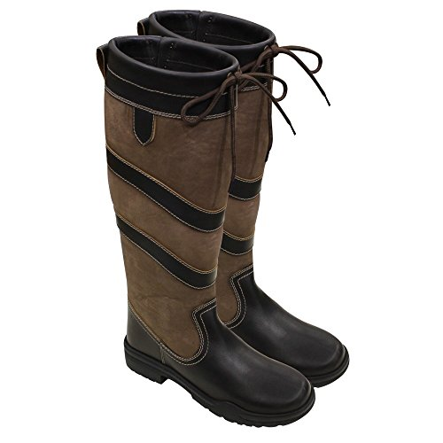 Boot Calf UK 10 Regular Harry Rio Size Hall Width Colour Country Brown wZZFtqI