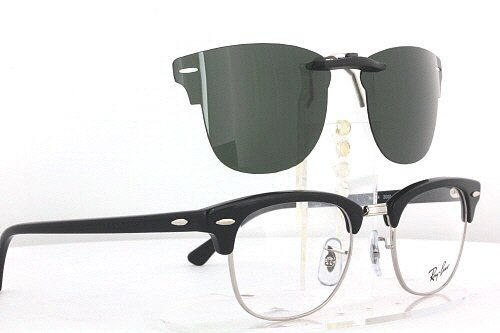 e69b52249c2 ... clearance ray ban clubmaster rb5154 51x21 polarized clip on sunglasses  buy online in uae. health