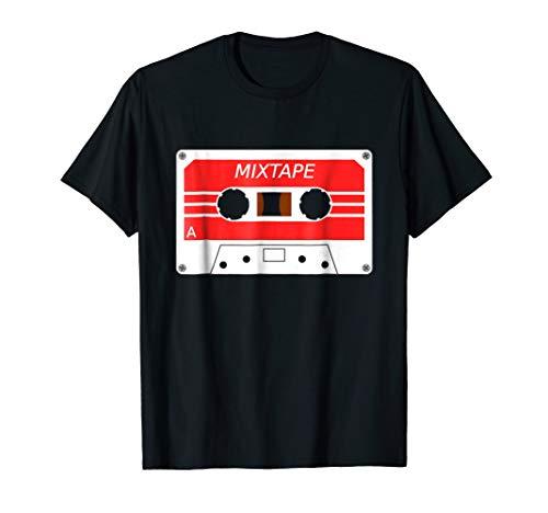 80s Mixtape Cassette Tape T-Shirt Vintage Retro Music Gifts ()