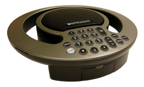Spracht Aura SoHo version 2.0 Full-Duplex Analog Conference Phone with Expanded Capability-Amber (Switch Mic Muting)