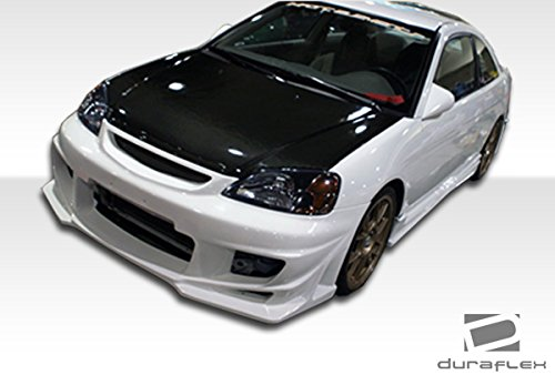 Duraflex ED-TRP-232 Bomber Body Kit - 4 Piece Body Kit - Compatible For Honda Civic 2001-2003