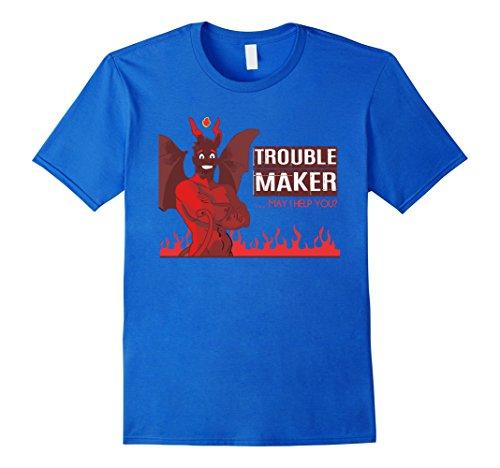 Mens Trouble Maker Devil Popular Halloween Costume Idea 3XL Royal (Devil Halloween Costumes Ideas)