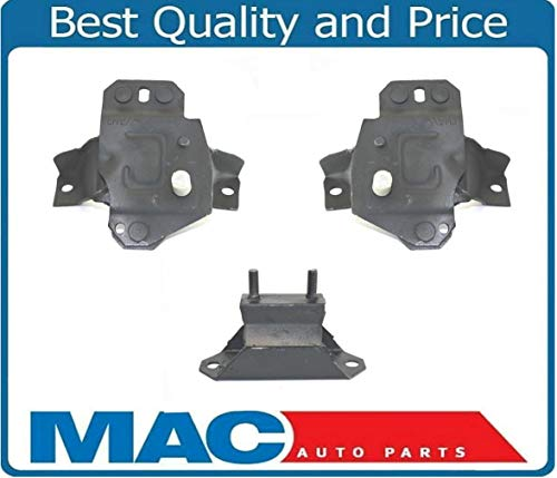 - for 1984-1993 Ford MUSTANG 5.0L V8 Convertible ONLY 3pc Motor Mounts 100% NEW