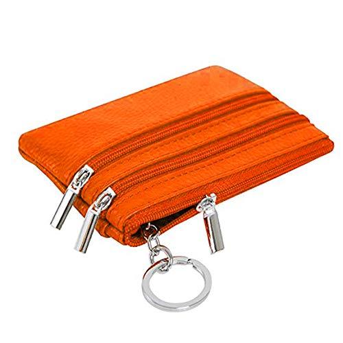 À Coafit Fermeture Pour Femmes Orange Sac Polyvalent Avec Main Glissière ppq5wrP