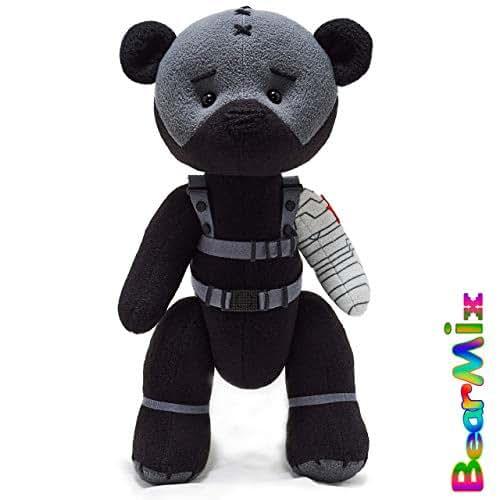Amazon.com: Bucky Winter Soldier bear - marvel superhero