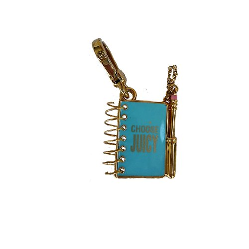 Juicy Couture Notebook Charm