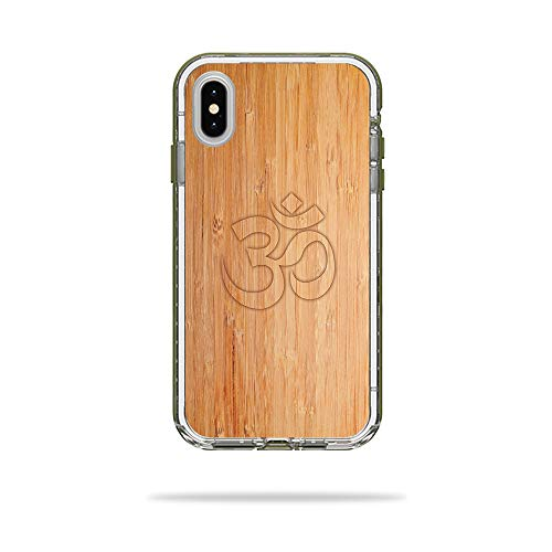 MightySkins Skin for LifeProof Next iPhone Xs Max Case - Bamboo Ohm | Protective, Durable, and Unique Vinyl Decal wrap Cover | Easy to Apply, Remove, and Change Styles | Made in The USA