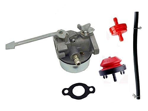 Carburetor for Tecumseh 640086 640086A 632641 632552 3HP 2 Cycle Engine Carb Gasket (8n Carburetor Rebuild Kit compare prices)