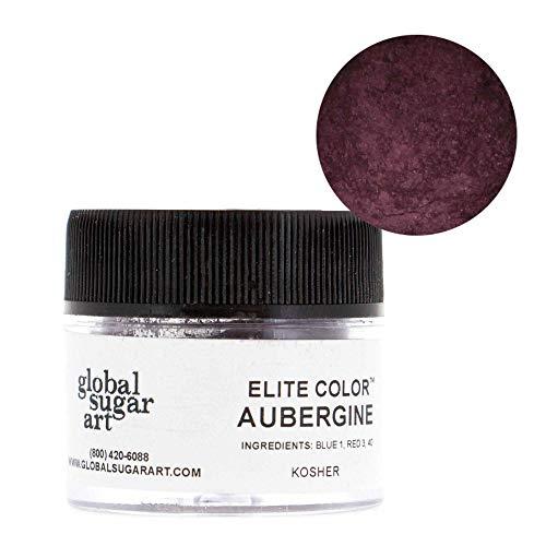 Aubergine Finish - Global Sugar Art Aubergine Petal Dust
