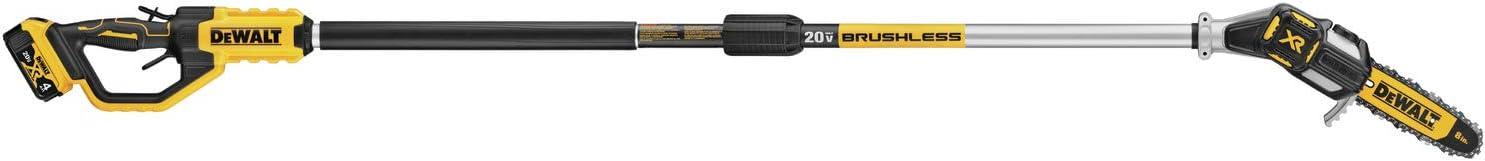 DEWALT20V MAX XR Pole Saw, 15-Foot Reach (DCPS620M1)