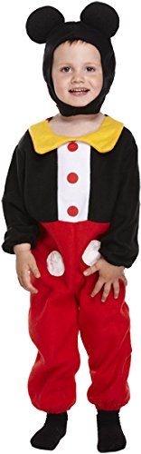 Henbrandt FANCY DRESS TODDLER MOUSE BOY 3 YRS (Mickey Mouse Costume For Toddler)
