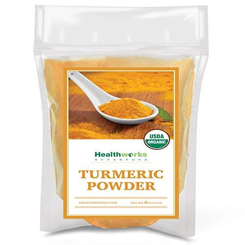 Healthworks Turmeric Powder Organic 8 Ounce