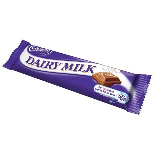 - Cadbury Dairy Milk, 1.73-Ounce Units (Pack of 24)