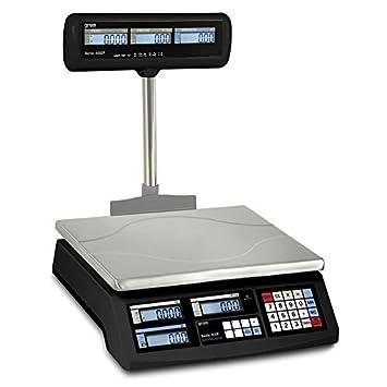 Bascula balanza de peso homologada sin impresora de ticket: Amazon.es: Electrónica