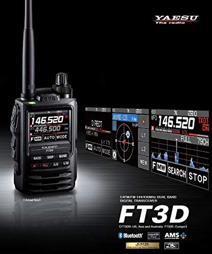 Yaesu Ft 3d E Doppel Recorder C4fm Bluetooth Gewerbe Industrie Wissenschaft