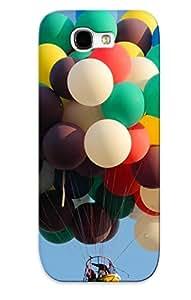 Cute Tpu Chapiterq Balloon Flight Case Cover For Galaxy Note 2