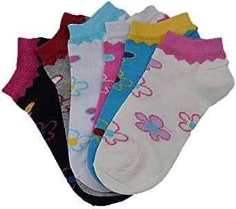 جوارب بناتي قطن قصير 6 جوز رياضي, علامة كلوي