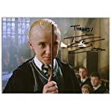 TOM FELTON HARRY POTTER DRACO MALFOY SIGNED AUTOGRAPH PHOTO PRINT IN MOUNT