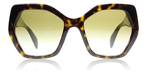 (Prada Women's PR 16RS Designer Sunglasses, Havana/Brown)