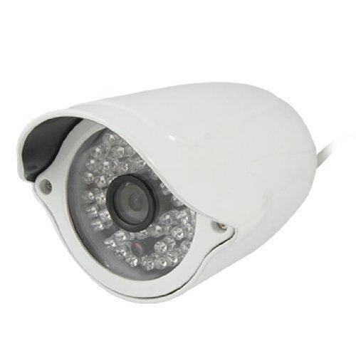 (EU Plug 100V-240V 1/4 CCD Sharp 48 IR PAL LED câmera de segurança CCTV)
