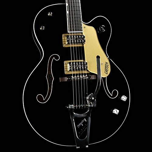 Gretsch Guitars G6120SSU Brian Setzer Nashville Semi-Hollow Electric Guitar Black