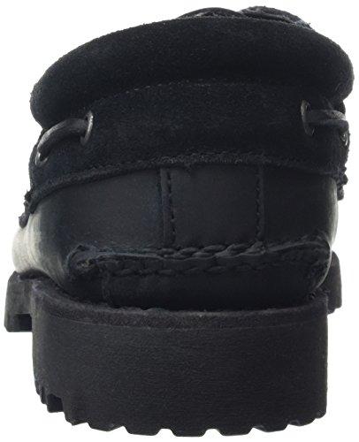 Timberland Classic 3 Eye Lug, Mocasines para Hombre Black
