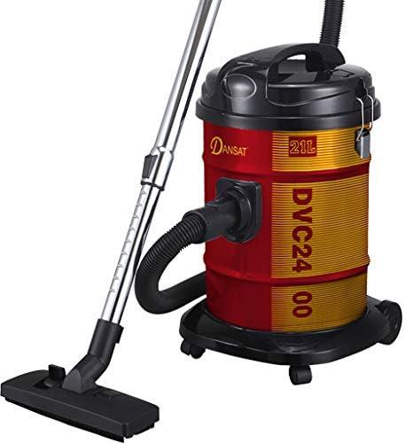 Dansat Vacuum Cleaner 21 Litter 1400 Watts, Red, DVC2400B