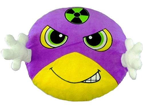 Amazon.com: Goffa Flash Superhero Emoji cojín relleno de ...