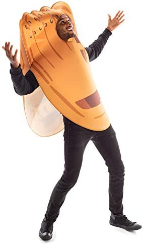 Baseball Mitt Halloween Costume Funny Sports Adult One-Size Glove Outfit