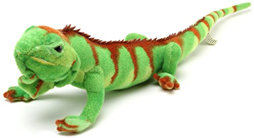 Iago the Iguana | Almost 2 1/2 Foot Long (With Tail!) Stuffed Animal Plush Lizard | By Tiger Tale (Lizard Animals)
