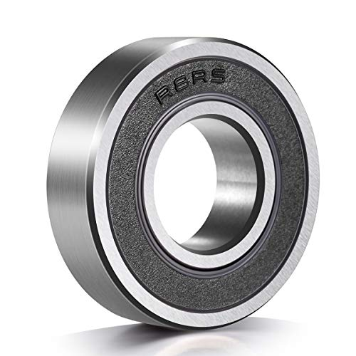 10 Pack R8-2RS Deep Groove Ball Bearings, 1/2