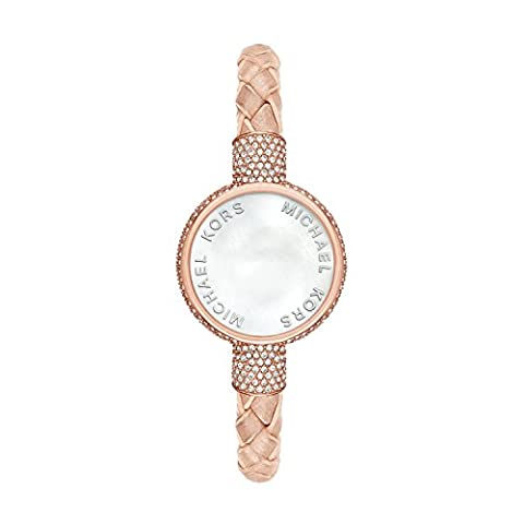 Michael Kors Access Activity Tracker Crosby Beige Bracelet (Watches Michael Kors In Clearance)