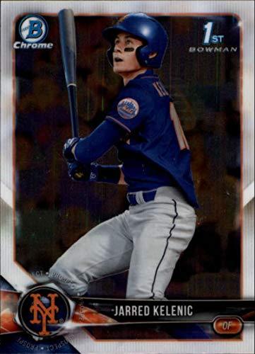2018 Bowman Draft Chrome #BDC-6 Jarred Kelenic New York Mets RC Rookie MLB Baseball Trading Card