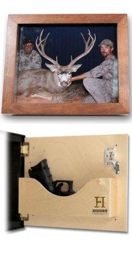Shadow Box Cherry| Diversion Safe | Safe | Hide | Hide-a-key | Keepsake Safe | SecureLogic | Personal Home Security