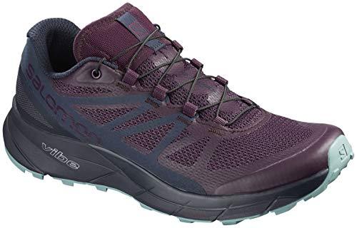 Salomon Sense Ride Running Shoe - Women's Potent Purple/Graphite/Navy Blazer 9