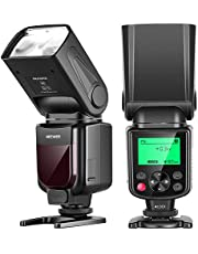 Neewer NW635 GN58 TTL Flash Speedlite with LCD Display and Soft Diffuser Compatible with MI Hot Shoe Mirrorless Cameras A9II A9 A7RIV/III/II A7III/II A7SII A6600 A6500 A6400 A99II RX10II/III/IV
