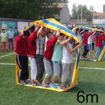 Outdoor Team Cooperation Sense Training Interactive Toys For Children Educational Sports Games - Outdoor Recreation Amusement Park - (6M) - 1 x Cooperation Sense Training -