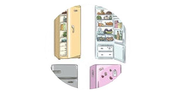 alfombrilla de ratón cuatro frigoríficos de dibujos animados ...