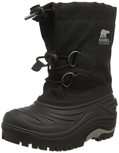 Sorel Mens Childrens Super Winterlaarzen Zwart