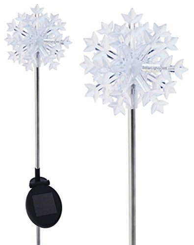Solar Snowflake Pathway Lights in US - 2