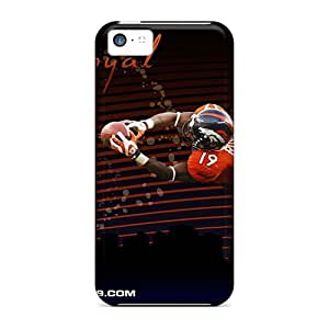 Perfect Hard Cell-phone Cases For Iphone 5c (JNE10617sHTy) Customized Beautiful Denver Broncos Image