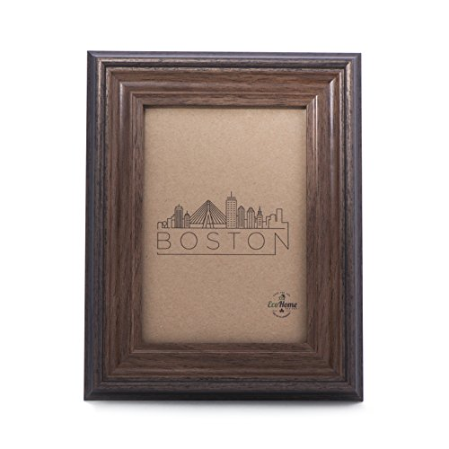 4x6 Picture Frame Brown - Mount / Desktop Display, Frames by EcoHome