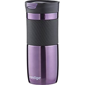 Contigo Snapseal Vacuum-insulated Stainless Steel Travel Mug, 16-ounce, Violet