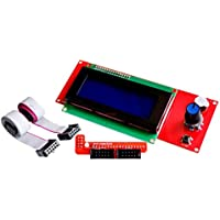 CHENBO(TM) 3D Printer Kit Smart Parts RAMPS 1.4 Controller Control Panel LCD 2004 Module Display Monitor Motherboard Blue Screen