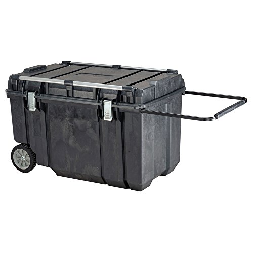 Dewalt Plastic Tool Box - Portable Tool Box, 154 lb, 23 in. H, Black